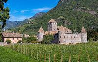 Bolzano in Alto Adige, the Maretsch Castle
