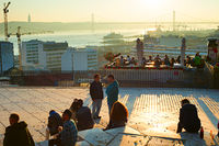 Lisbon viewpoint, Portugal