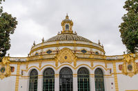 view of the Lope de Vega theater in Seville