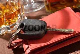 Betrunken Autofahren