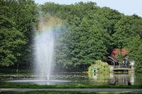 fountain at park