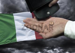 Bankrott von Italien