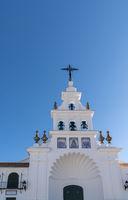 Ermita del Rocio church in Andalusia