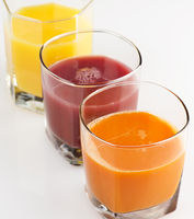 Fresh Fruit And Vegetable Juice