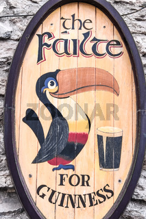 Old Guinness label