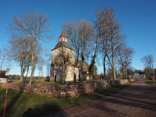 St. Maria Kirche, Saltvik, Aland, Finnland