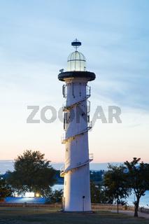 Leuchtturm auf der Donauinsel, Wien