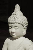 buddha statue in direct sunlight