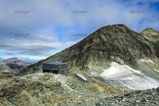 Berghütte Cabane de Tracuit
