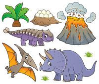 Dinosaur topic set 9