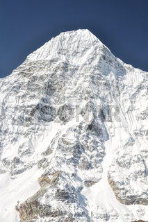 Front view of Kanchenjunga