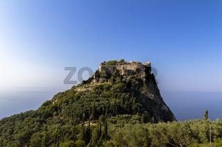 Angelokastro, Korfu
