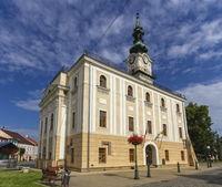 Townhall in Kezmarok, Spis region, Slovakia
