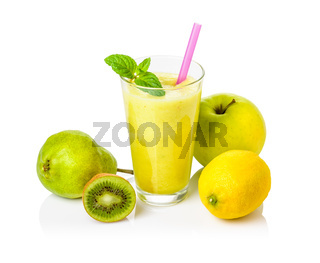 Fruit shake made ​​from fresh fruit