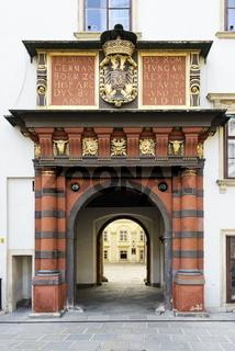 Schweizertor in der Wiener Hofburg