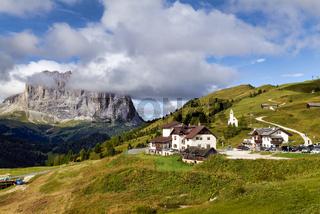 Gardena Pass. Dolomites. Italy