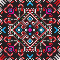 Romanian traditional pattern 220