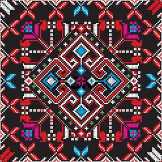 Romanian traditional pattern 220