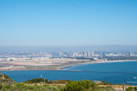 A breathtaking view of the San Diego Bay in California