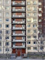 facade of a multi-storey building