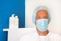 Doctor with face mask