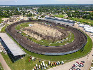 Knoxville Raceway Dirt Oval Track