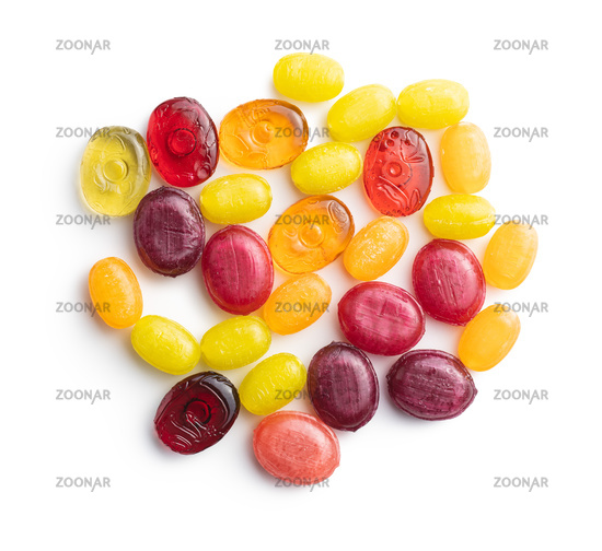 Sweet colorful candies.