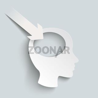 Paper Arrow White Head PiAd