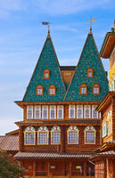 Wooden palace of Tsar Alexey Mikhailovich in Kolomenskoe - Moscow Russia