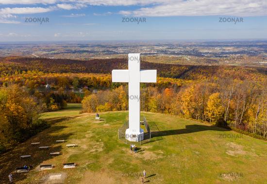 Great Cross of Christ in Jumonville near Uniontown, Pennsylvania