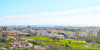 Paphos panoramic skyline city Cyprus