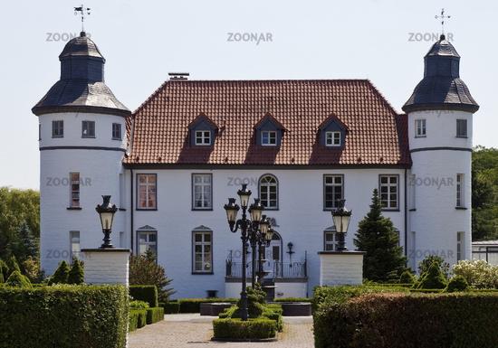 Dieprham Castle, Kamp-Lintfort, Ruhr Area, North Rhine-Westphalia, Germany, Europe