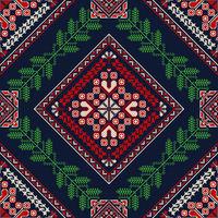 Romanian traditional pattern 76