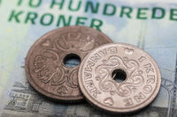 Danish kroner, currency from denmark in europe