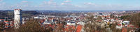 View from Veitsburg to Ravensburg