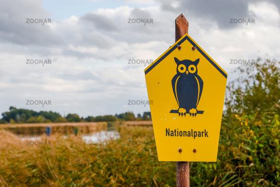 Nature Reserve Sign Owl Nature Park
