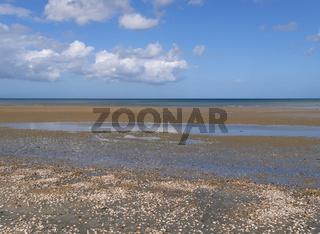 Strand von Quineville, Normandie