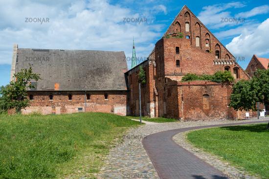 GemHistorical buildings on the site of the Bad Doberan cathedral, Mecklenburg-Vorpommern