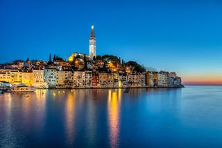 Blick auf die Altstadt von Rovinj