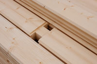 wooden beams, construction wood material