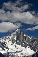 Gipfelpyramide der Aiguille Verte