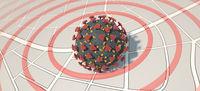 Corona Virus Hotspot