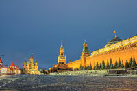 Red Square, Mausoleum of Lenin in Moscow, Russia