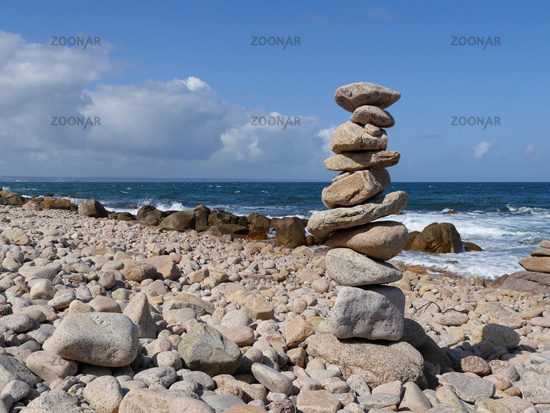 stacked stones in balance