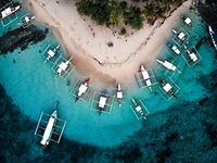 Guyam Island, Siargao, The Philippines - Aerial Photograph