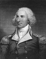 Philip Schuyler (1733-1804) on engraving from 1835. American general who served in the French and Indian War and in the American Revolutionary War. Engraved by T.Kelly and published in ''National Portrait Gallery of Distinguished Americans Volume II''
