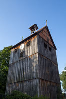 Wooden Bell Tower in Wienhausen, Germany