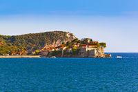 Beach in Sveti Stefan - Montenegro