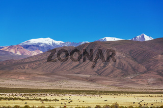 Mountains in Bolivia