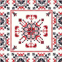 Romanian traditional pattern 99